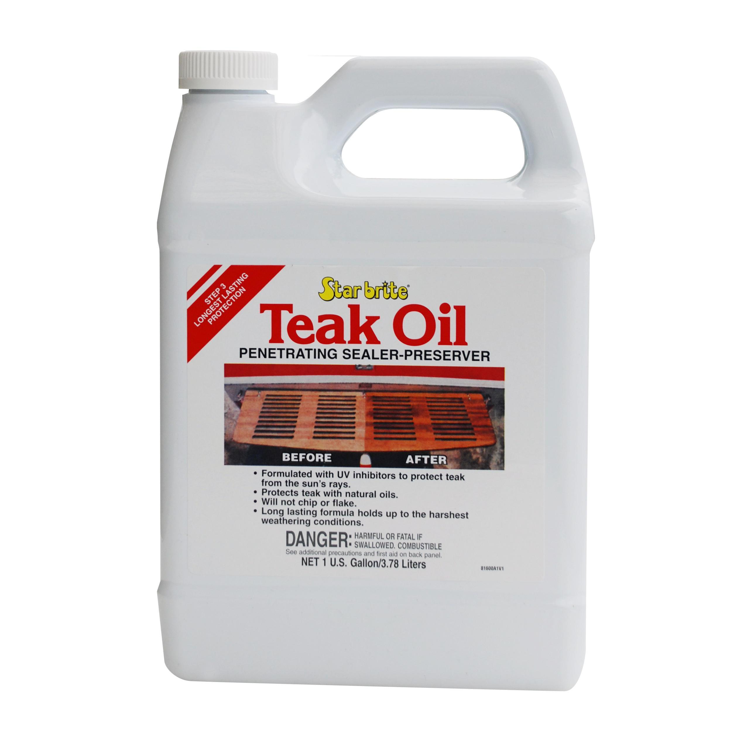 Starbrite huile de protection pour teck l starbrite protection nautica shop - Huile de teck ...